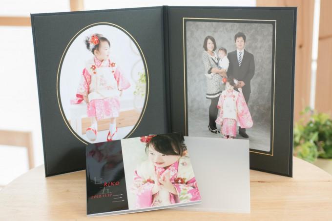 七五三 六切2面アルバム・20ページ写真集(写真20カット)